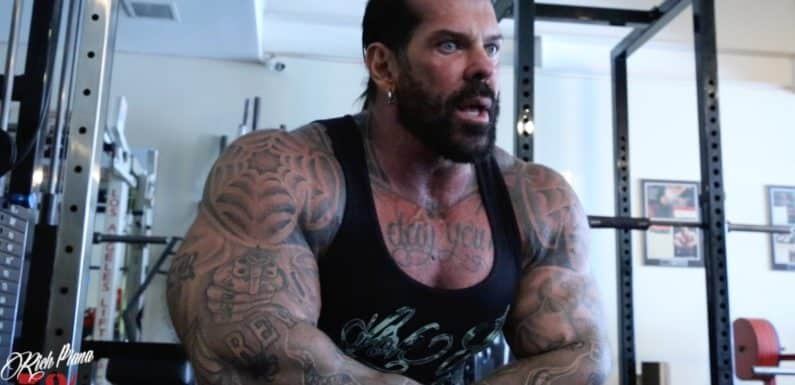 Rich Piana Meal Plan Discontinued