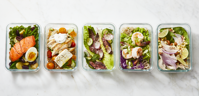 2500 Calories Meals Preparation in 30 min