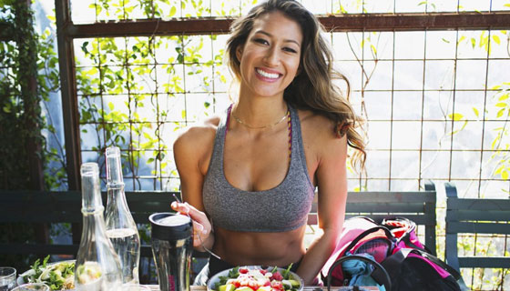 Karina Elle Diet and Workout
